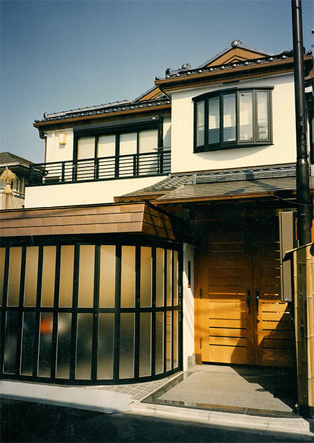 1998年東京都杉並区善福寺 専用住宅 地下1階